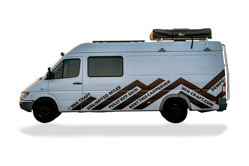 c57f5aa964ff01 Our Long Van seats 6 and sleeps 4-6 adults. With tons of extra storage and  room
