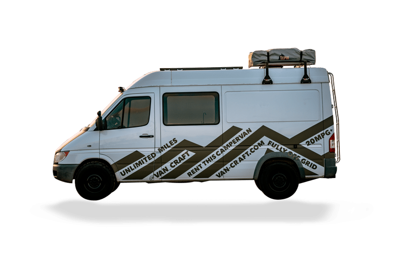 Short wheelbase campervan rentals - VanCraft