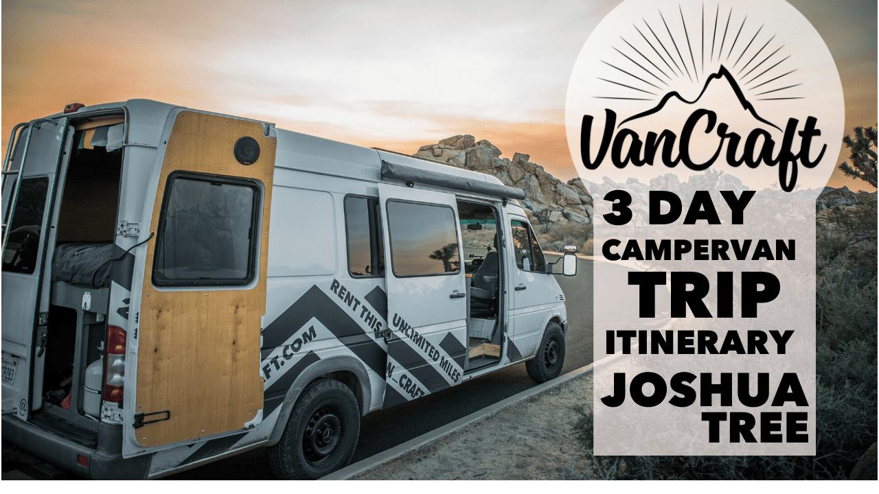 Southern California campervan trip