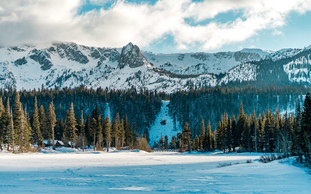 Campervan trip to Mammoth Mountain