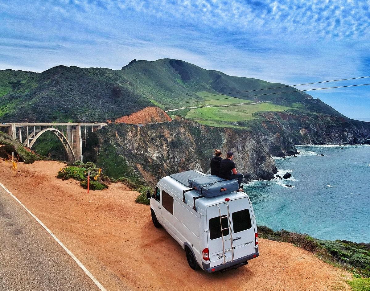 ultimate camper van road trip