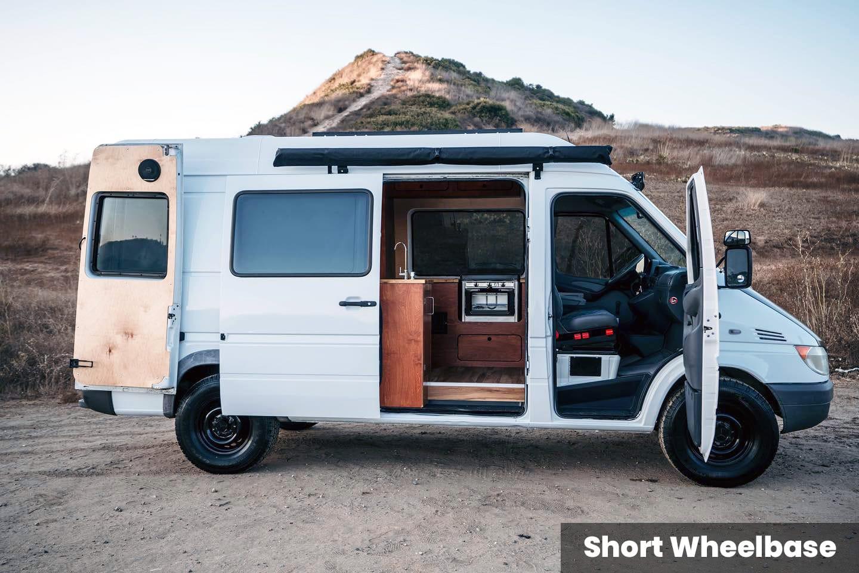 """140"""" wheelbase Sprinter"""