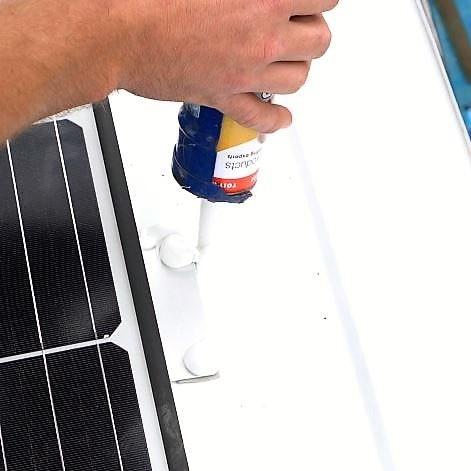 campervan solar panel seal
