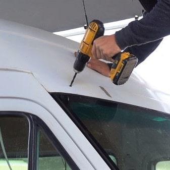 sprinter campervan lightbar installation